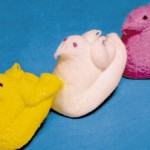peeps with wings circa 1953