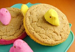 peek-a-boo peeps cookies
